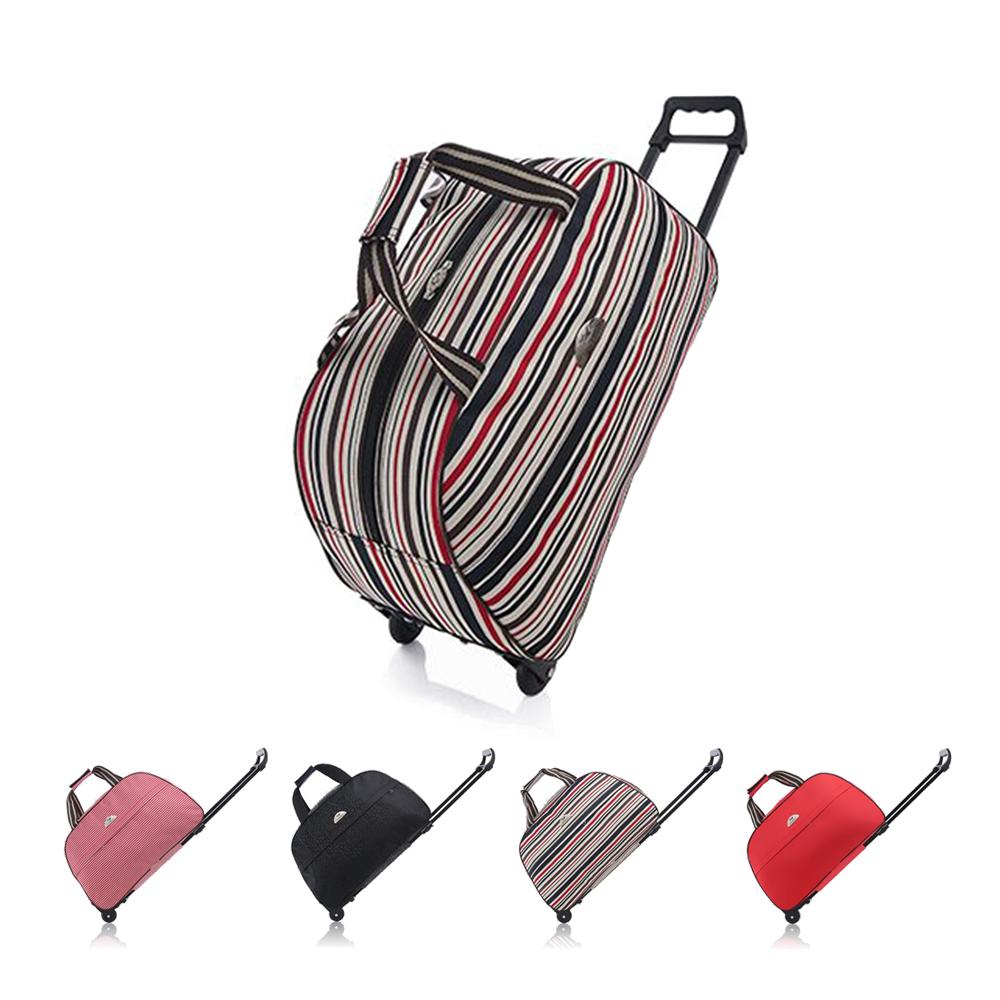 Incare 韓系20吋大容量伸縮拉桿行李包(登機箱/行李箱)-4色可選