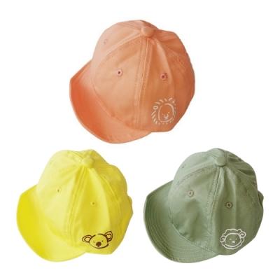寶寶童帽 可愛動物塗鴉鴨舌帽 88661