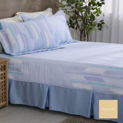 Cozy inn 極簡風尚 雙人 100%萊賽爾天絲枕套床包組