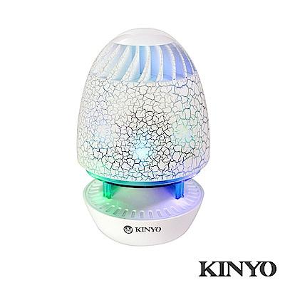 KINYO魔幻彩蛋裂紋立體聲喇叭US180