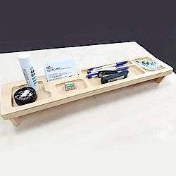 E.City_木製多功能桌面鍵盤置物架