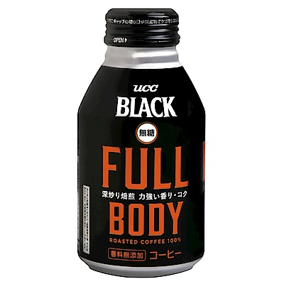 UCC FULL黑咖啡(275g)