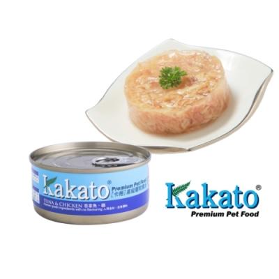 Kakato 卡格餐食罐 (鮪魚、雞)70g  鮮食 貓狗共食  貓罐 狗罐 天然罐 挑食
