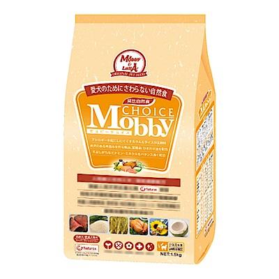 莫比Mobby 羊肉&米 肥滿犬/高齡犬專業配方 1.5KG 兩包組