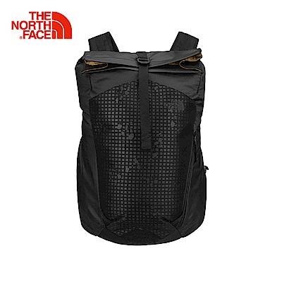 The North Face北面黑色舒適防護減壓雙肩背包|2ZEGJK3