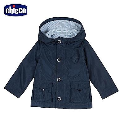 chicco-外套-活動帽長外套