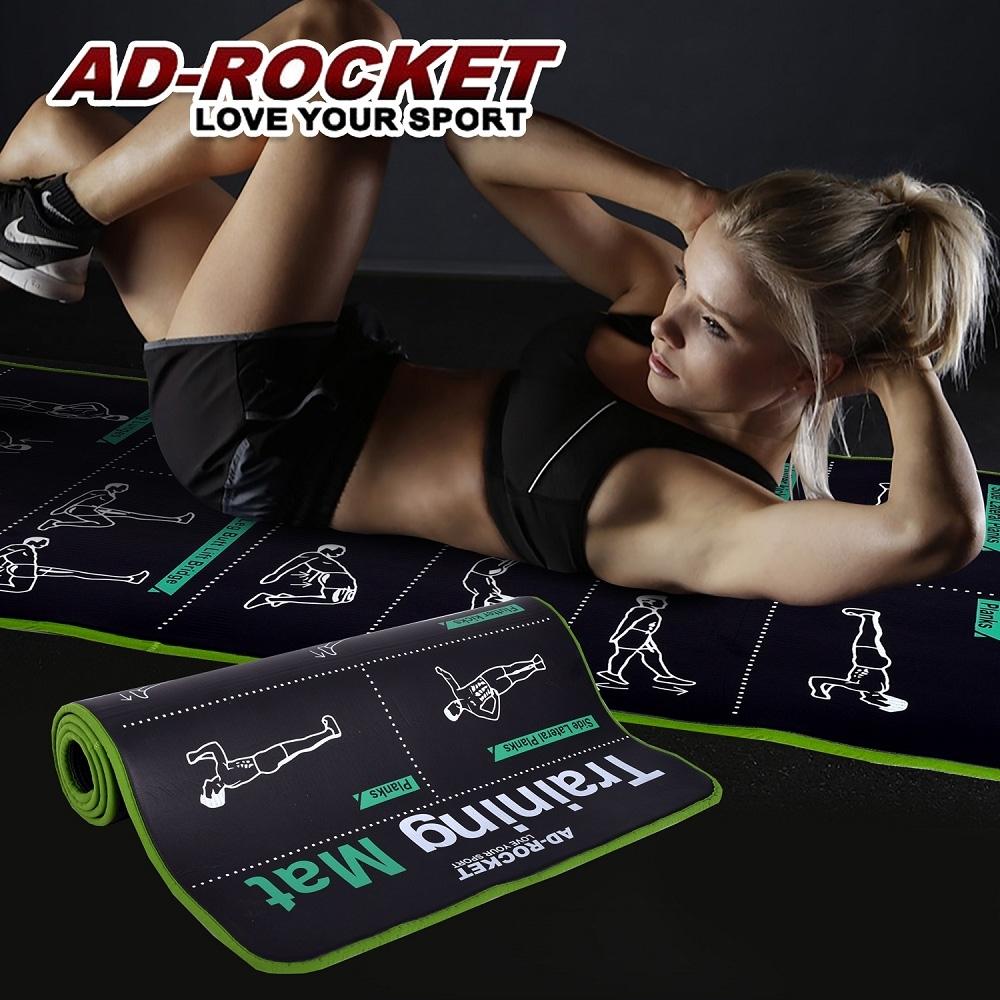 AD-ROCKET 第二代核心肌群訓練墊 專業加厚訓練運動墊(10mm)