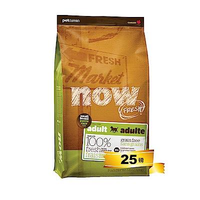 Now! 鮮肉無穀天然糧 小型成犬配方 25磅