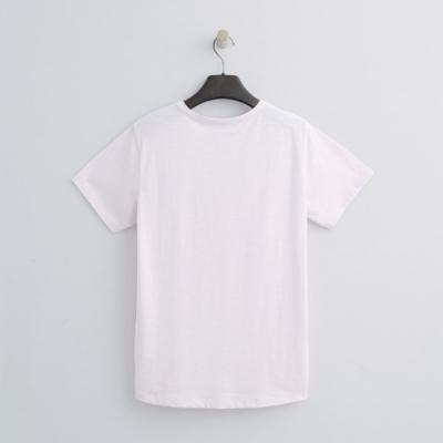 Hang Ten - 女裝 - 有機棉-簡約小開襟T桖 - 粉