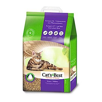 德國凱優 CAT S BEST 紫標 凝結木屑砂 20L (10kg) 兩包組