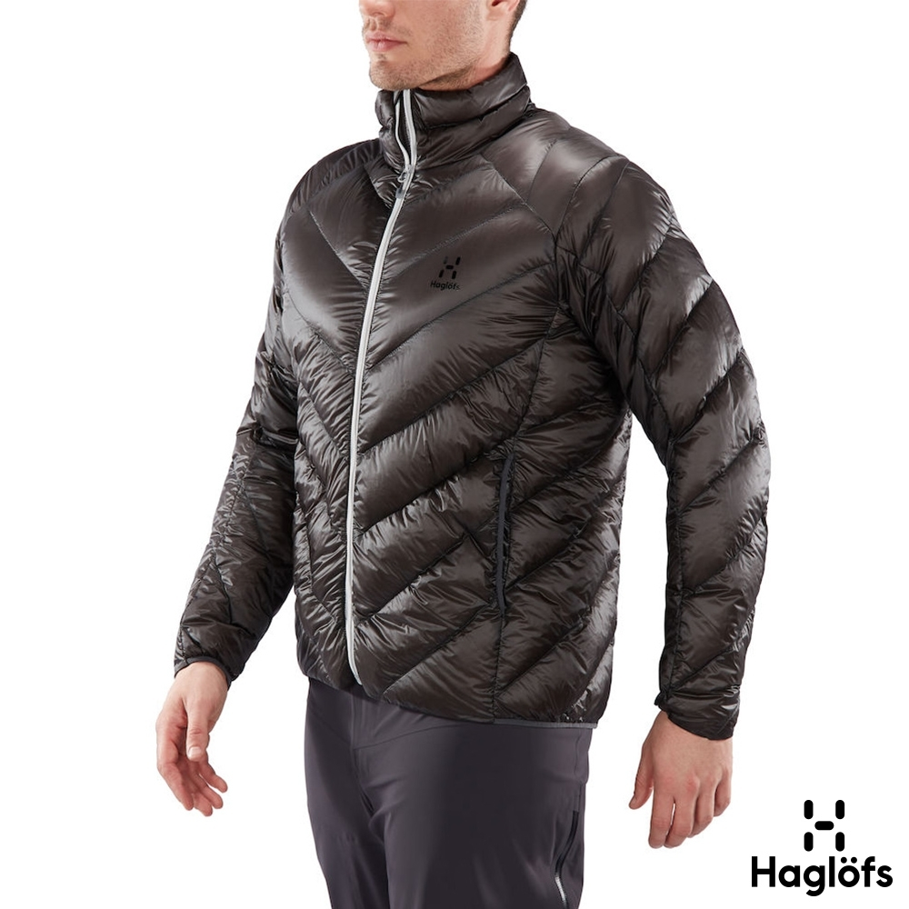 Haglofs 男 L.I.M Essens 極輕 保暖 羽絨外套 石板色