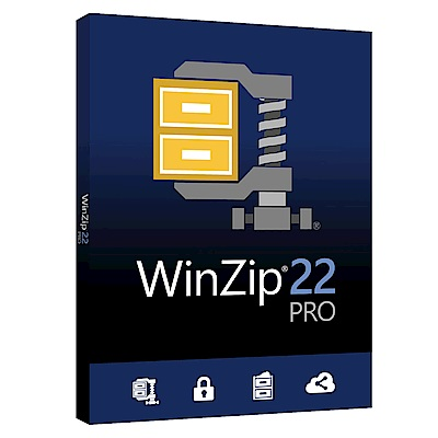 WinZip Pro  22  專業版盒裝(中/英)