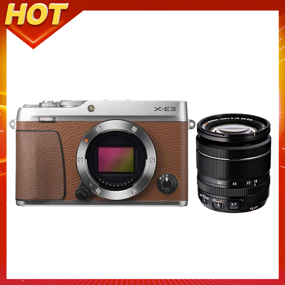 FUJIFILM X-E3 18-55mm 變焦鏡組 (公司貨)