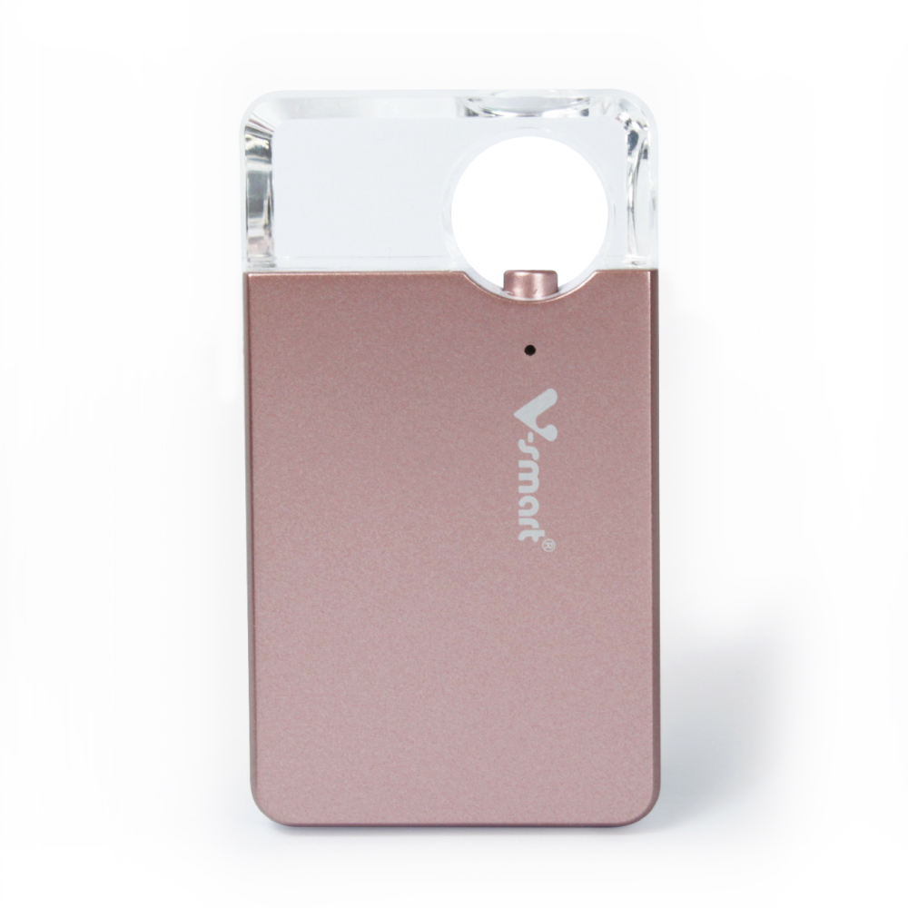 迷你個人雲端 5G WI-FI 無線隨身碟 128GB-玫瑰粉金