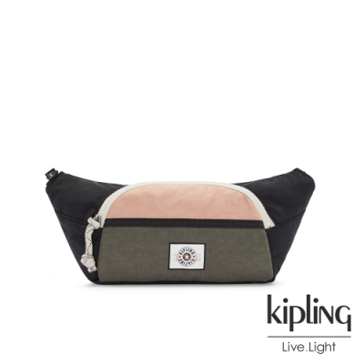 Kipling 甜美草莓抹茶拿鐵單層拉鍊造型小包-YURA