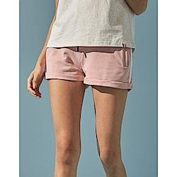 CACO-側織袋反折短褲(兩色)-女【TAR074】