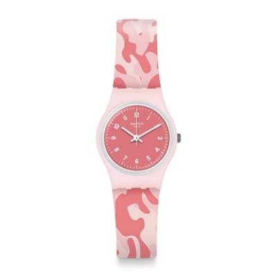 Swatch Core Refresh 系列手錶 CAMOUROSE 野戰玫瑰 -25mm