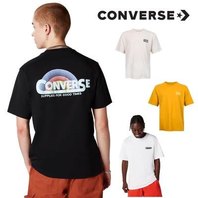 【618限定】CONVERSE 短袖服飾 休閒服飾 短TEE 男女 5款任選