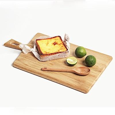 Homely Zakka 木趣食光木質砧板(06方把長方)