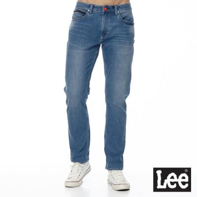 Lee 牛仔褲 722 低腰合身直筒 男 中藍 四面彈