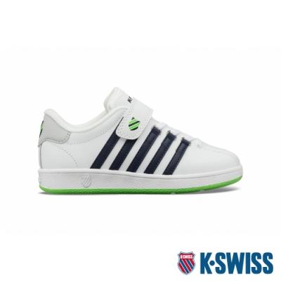 K-SWISS Classic VN VLC舒適運動鞋-童-白/藍/綠