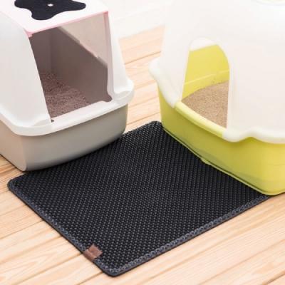 國際貓家-韓國Blackhole Litter Mat專利落貓砂墊 --正方形