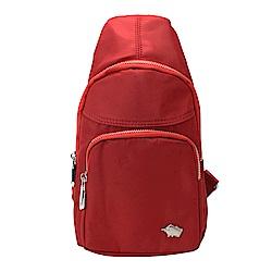 DRAKA 達卡 - 防潑水兩用單肩斜背胸包-紅