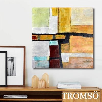 TROMSO百勝藝術立體抽象油畫-W407