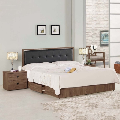 MUNA 諾艾爾5尺床片型雙人床(整組) 152.5X192X93.5cm