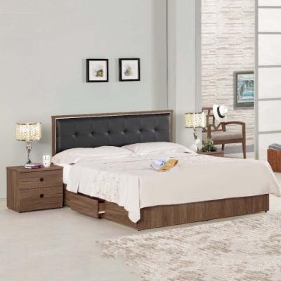 MUNA 諾艾爾6尺床片型雙人床(整組) 183X192X93.5cm