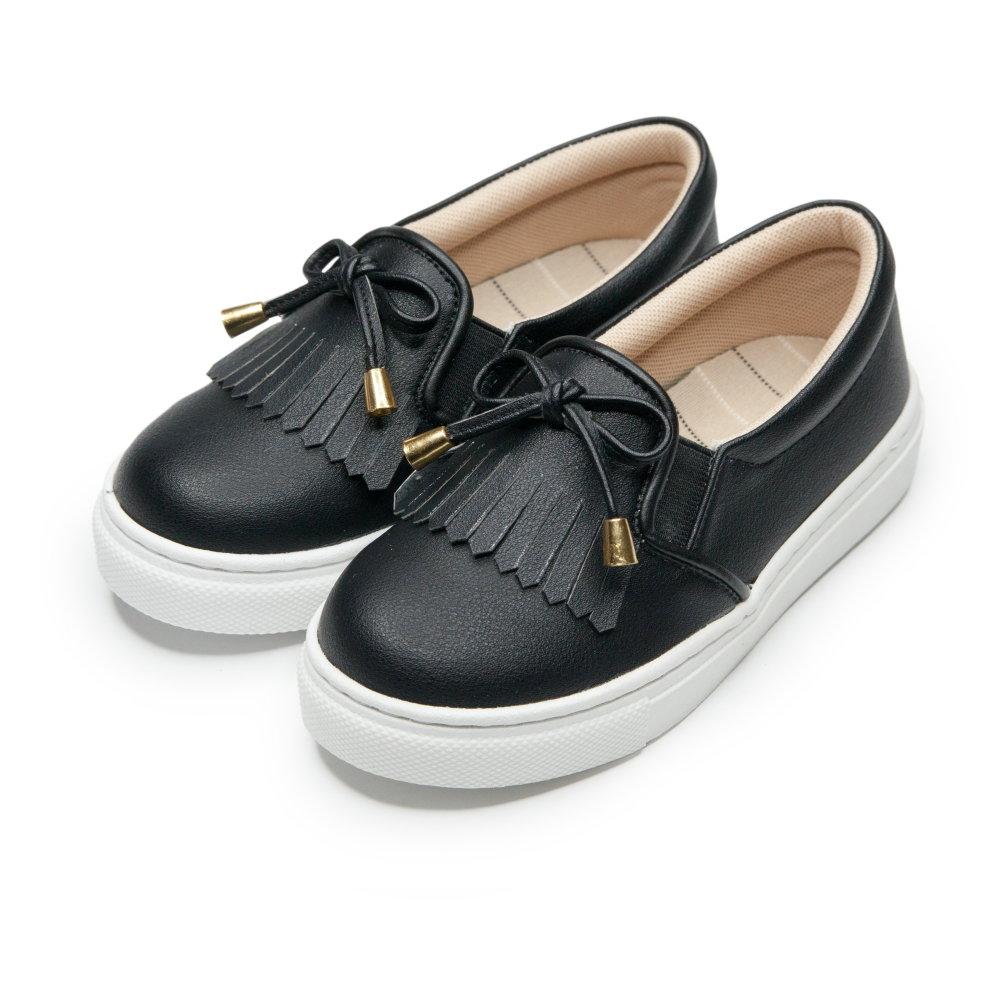 BuyGlasses 韓系質感懶人鞋-黑