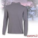 瑞多仕 男款 VILOFT 高領彈性保暖衣_DB4646 鐵灰色