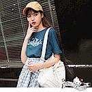 音樂Kitty印圖高含棉簡單T恤-OB大尺碼