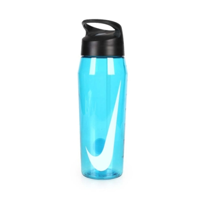 NIKE 32OZ 吸管水壺 透明藍白