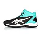 ASICS 大童籃球鞋 GELPRIMESHOT SP 4 黑湖水綠白