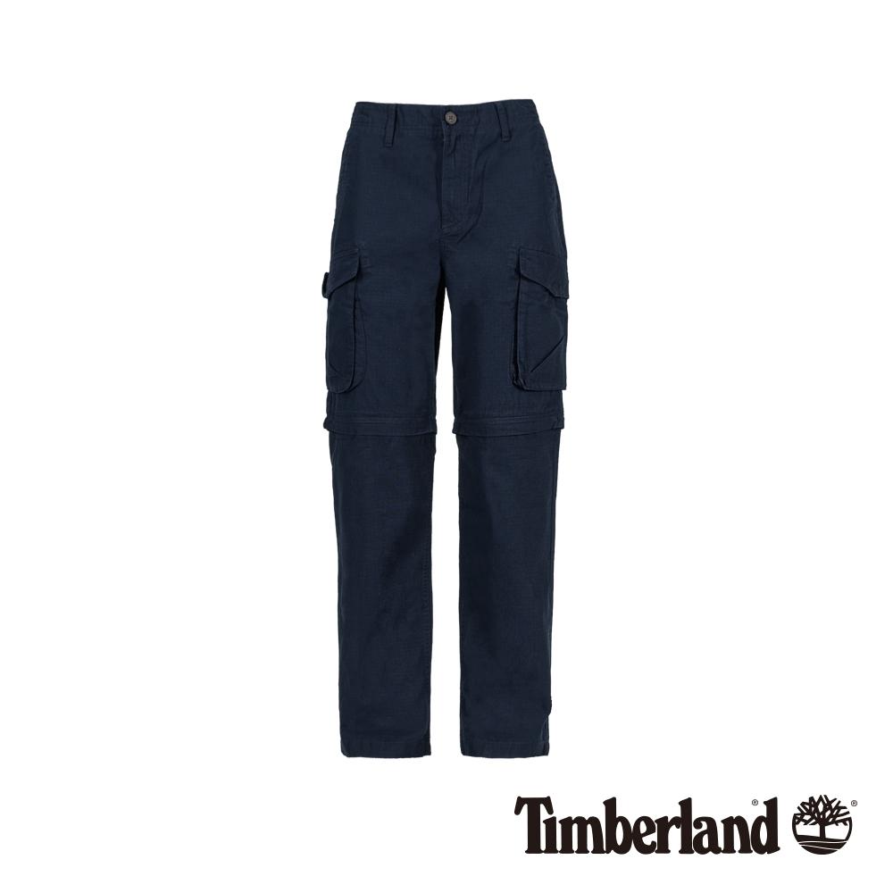 Timberland 男款深寶石藍休閒工裝褲 A1VY2