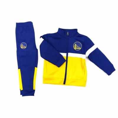 NBA 幼兒 長袖套裝 勇士隊