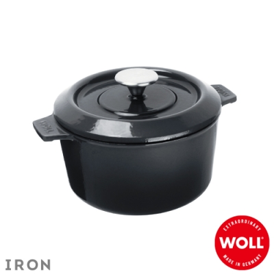 WOLL德國歐爾 IRON鑄鐵鍋20cm-灰