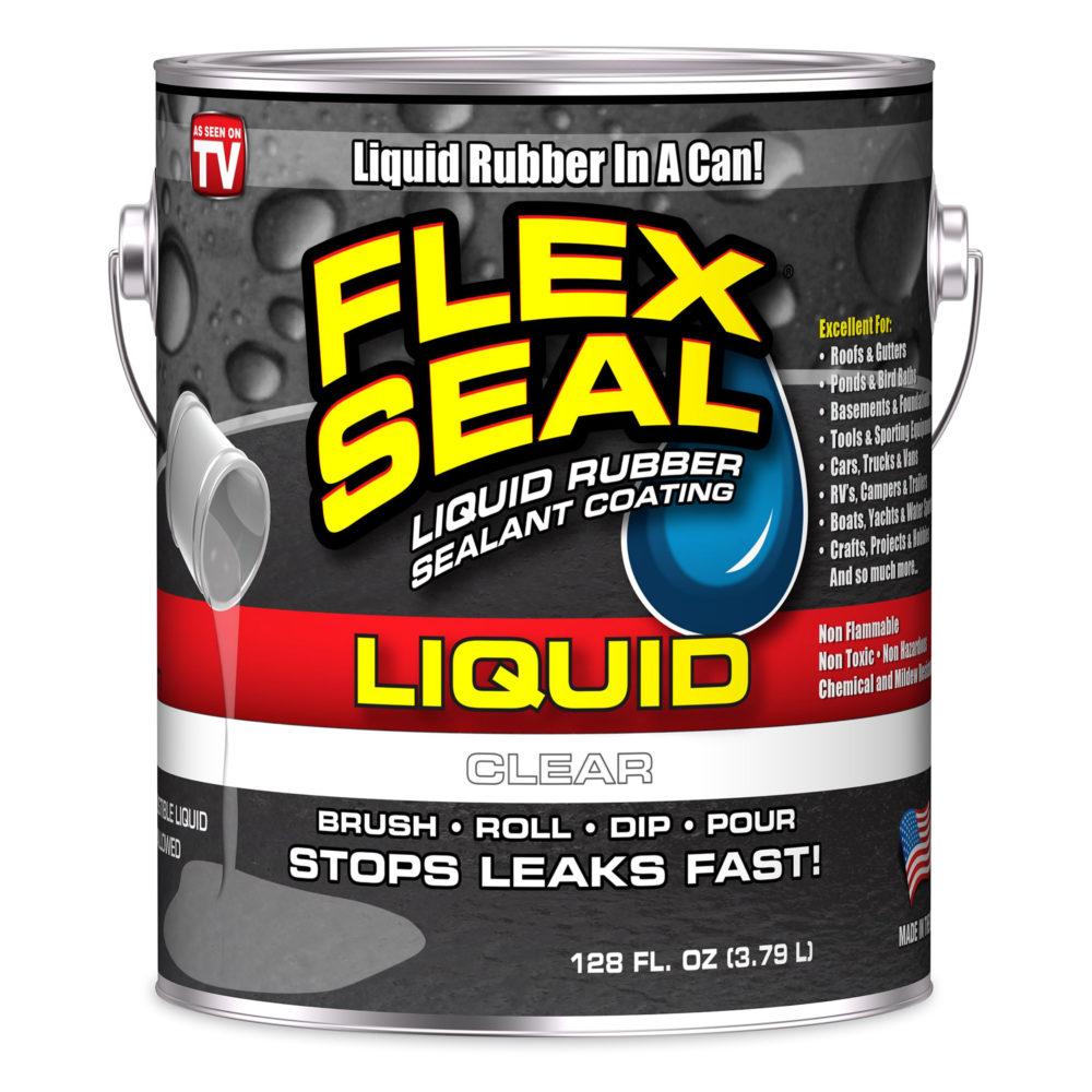美國FLEX SEAL LIQUID萬用止漏膠(半透明/1加侖包裝/美國製)
