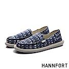 HANNFORT COZY 渲染圖騰懶人鞋-女-渲染藍
