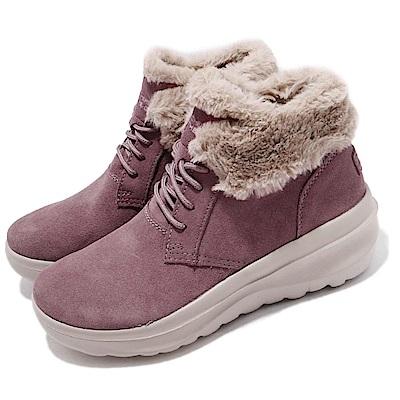 Skechers 靴子 Skyhigh Ultra 保暖 女鞋