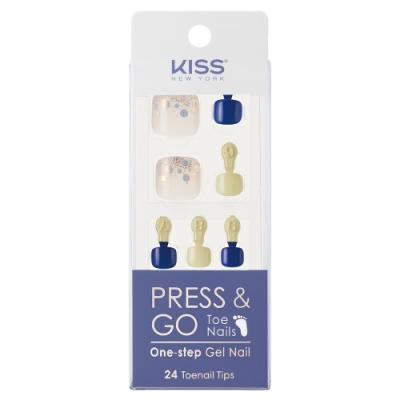 KISS New York-Press&Go足部指甲貼片-風中奇緣(KPT04K)