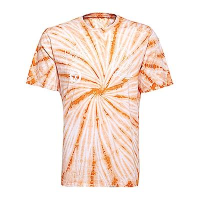 CONVERSE-男休閒短T恤10005914-A02-橘白