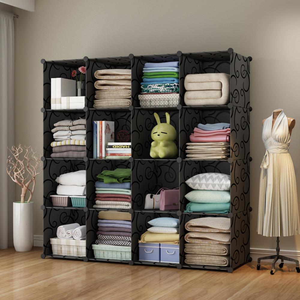 【Mr.Box】加大型16格收納櫃/置物櫃/書櫃-三色可選