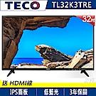 福利新品-TECO東元 32吋 低藍光液晶顯示器+視訊盒 TL32K3TRE