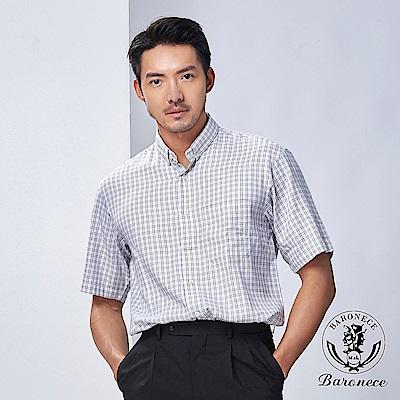 BARONECE 百諾禮士 日式設計簡約襯衫_512401-10