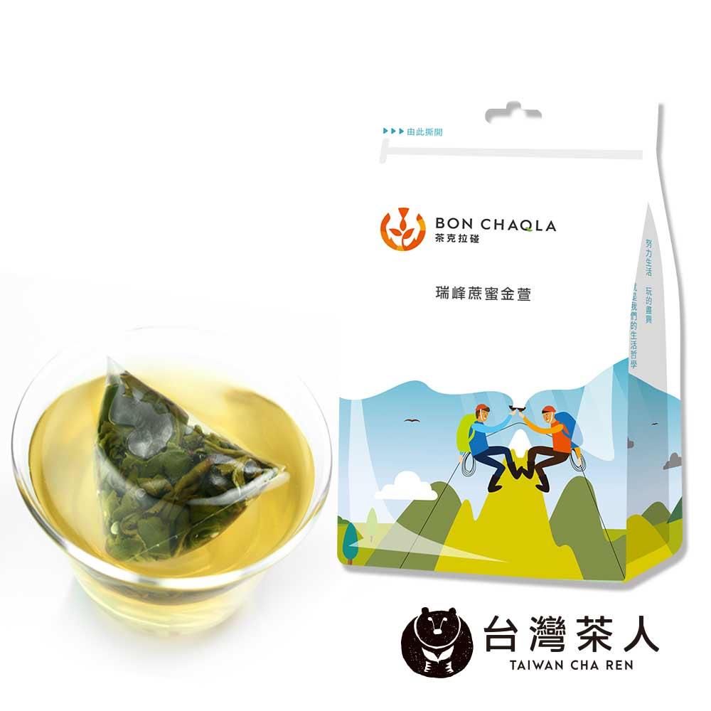 台灣茶人 瑞峰蔗蜜金萱三角茶包(18入/袋)*10袋 @ Y!購物