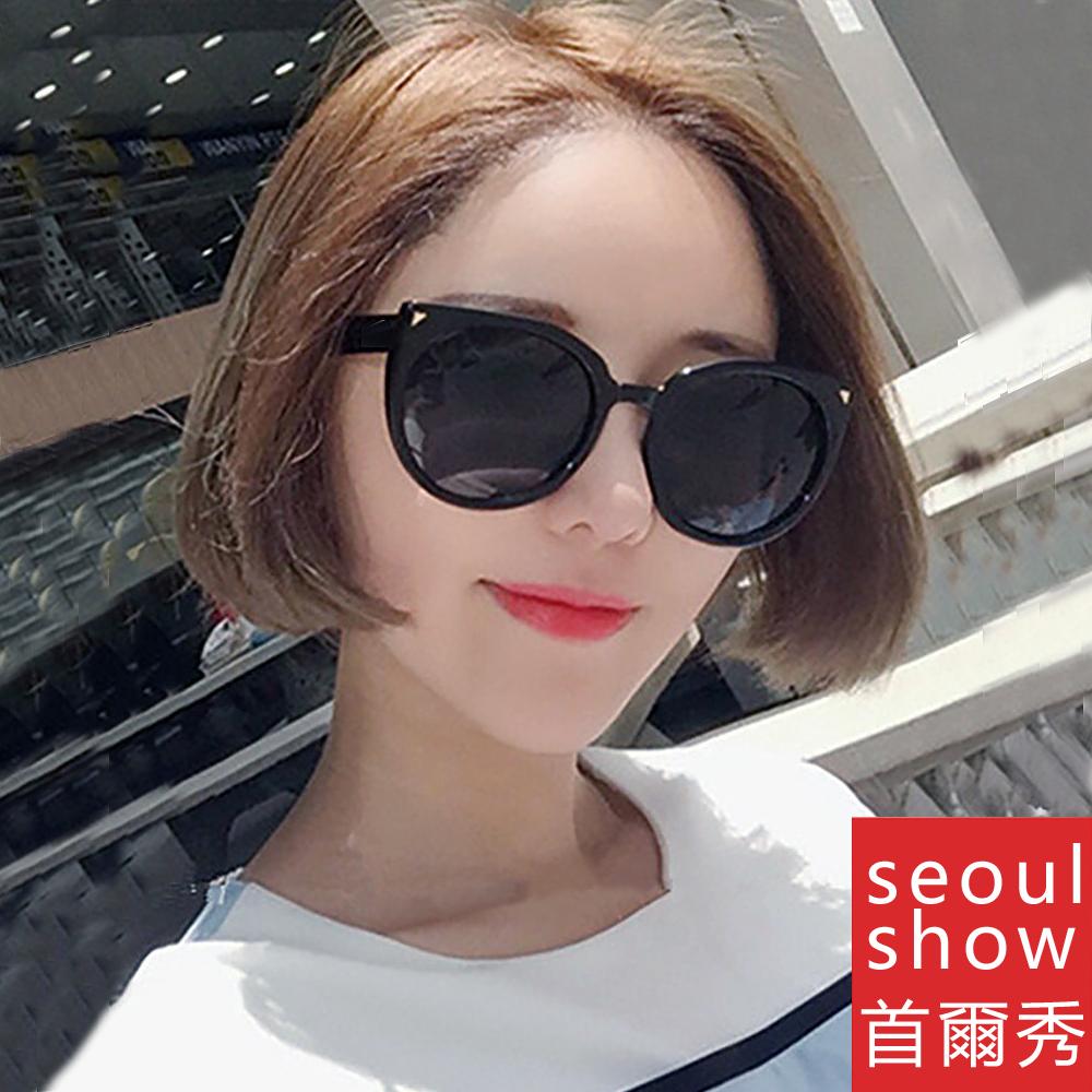 seoul show首爾秀 韓劇大貓眼太陽眼鏡UV400墨鏡 5941