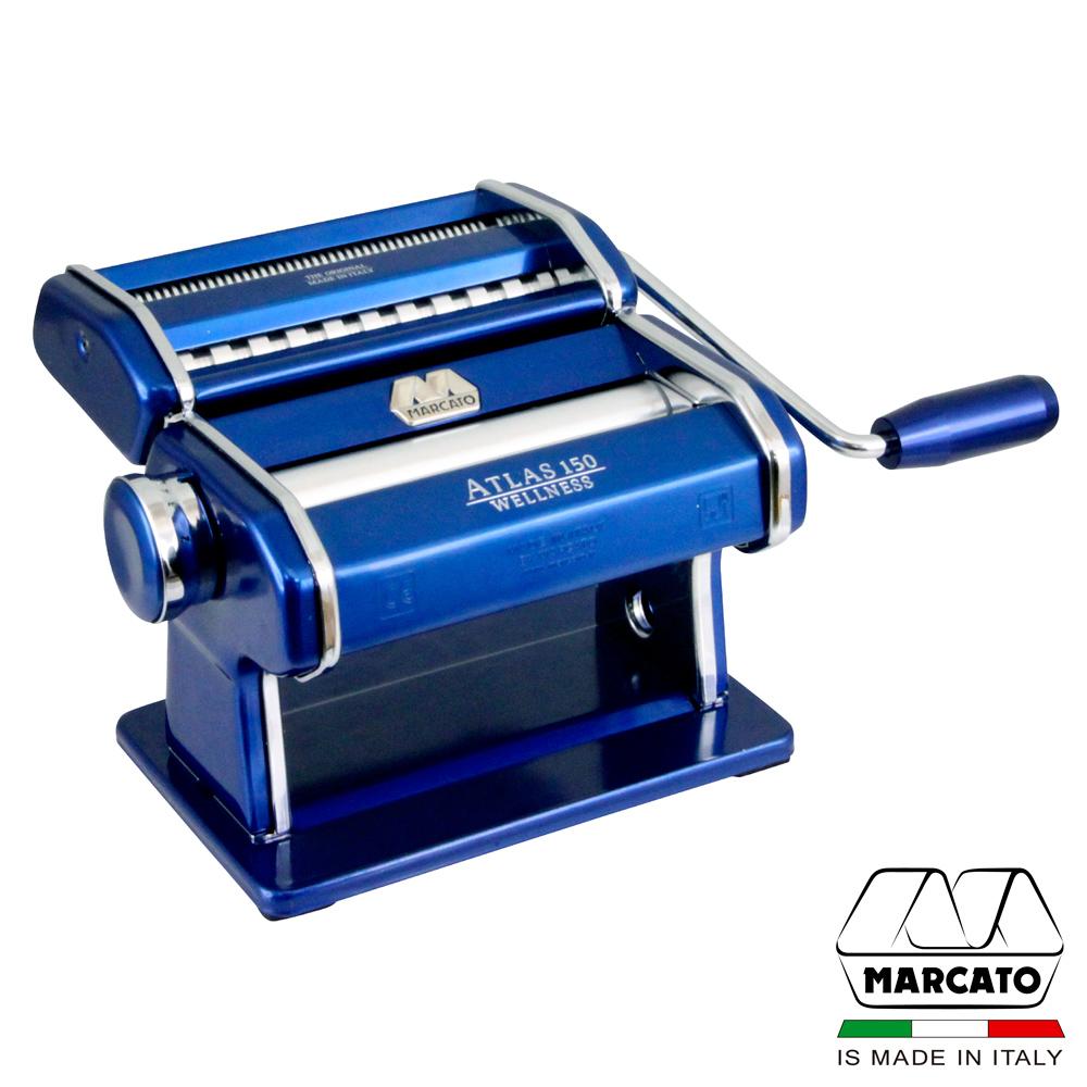 義大利MARCATO繽紛款ATLAS150可卸式壓製麵機-藍