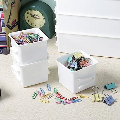 創意達人多多倫萬用分類收納盒(正方淺型)18入